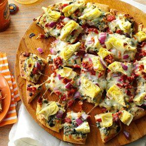 Artichoke & Spinach Dip Pizza