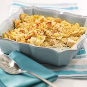 Artichoke and Chicken Casserole
