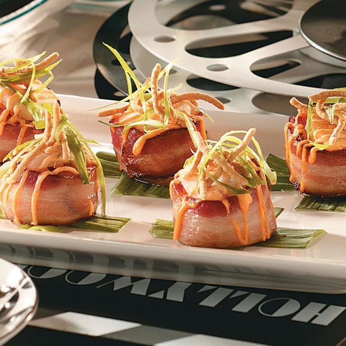 Asian Bacon-Wrapped Scallops