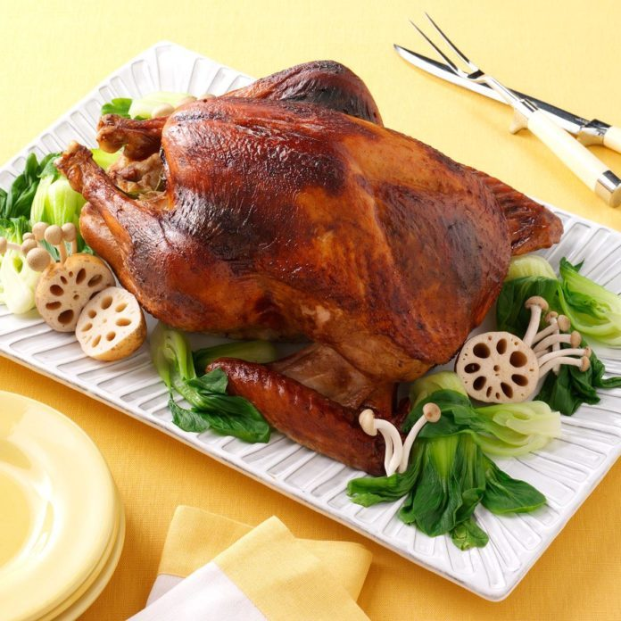 Asian Spiced Turkey