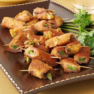 Asparagus Ham Swirls