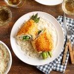 Asparagus-Stuffed Chicken Breast