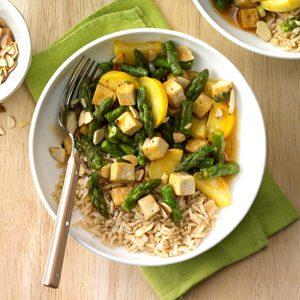 Asparagus Tofu Stir-Fry