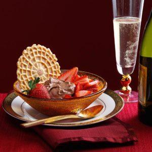 Asti & Strawberries Dessert