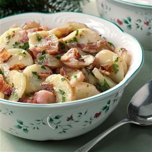Authentic German Potato Salad