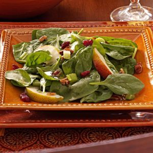 Autumn Spinach Salad