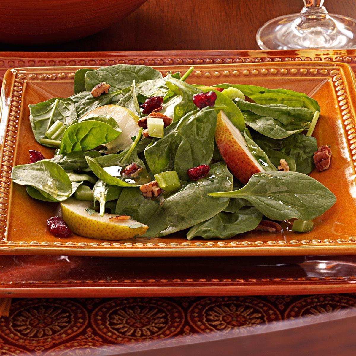 Autumn Spinach Salad Recipe Taste Of Home