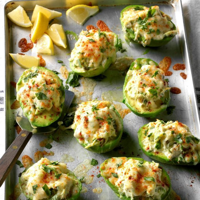 Avocado Crab Boats