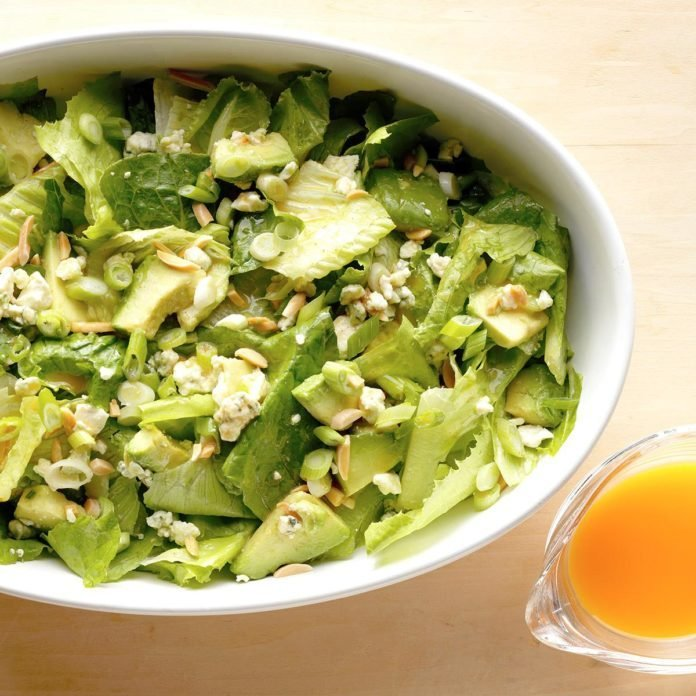 Avocado Romaine Salad