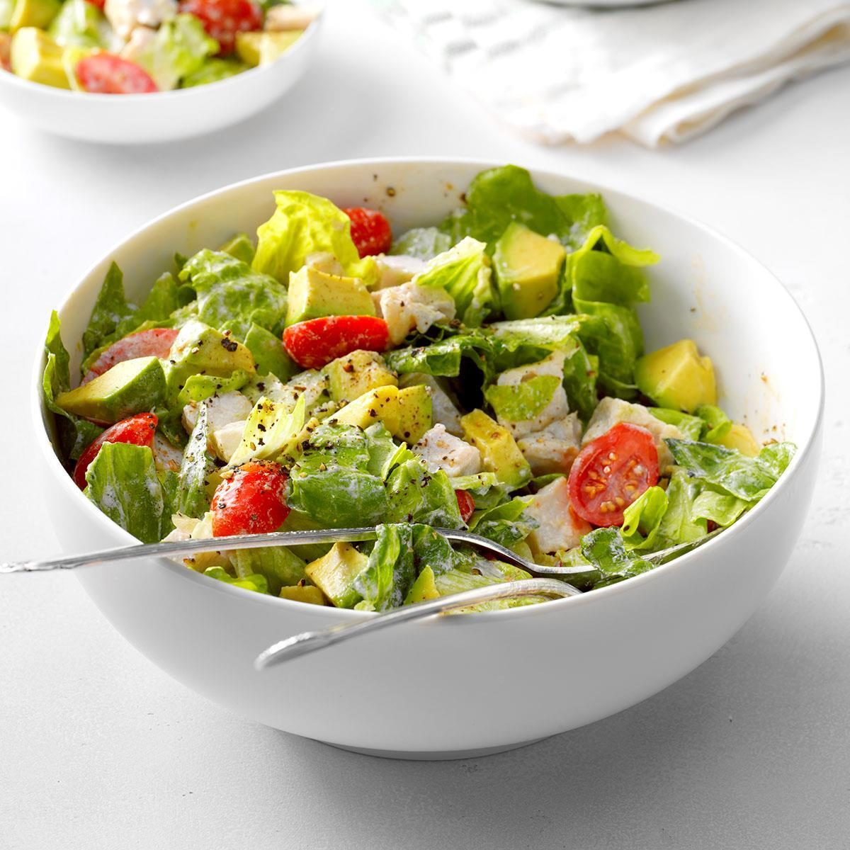 Avocado Turkey Salad Recipe
