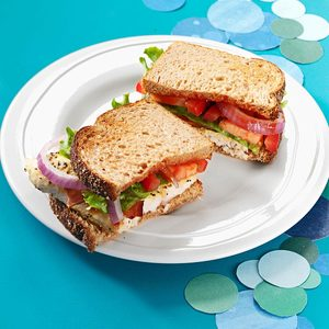 BLT Catfish Sandwiches