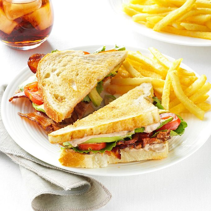 BLT with Peppered Balsamic Mayo