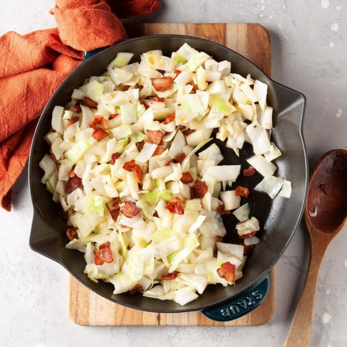 Bacon Cabbage Stir-Fry