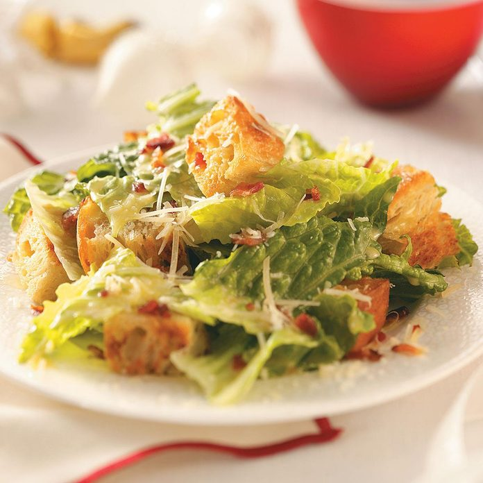 Bacon Caesar Salad