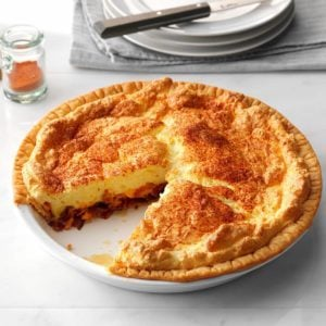 Bacon-Cheese Puff Pie
