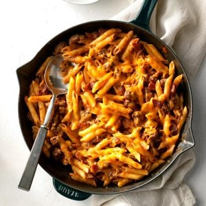 Bacon Cheeseburger Pasta