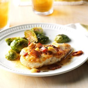 Bacon-Garlic Chicken