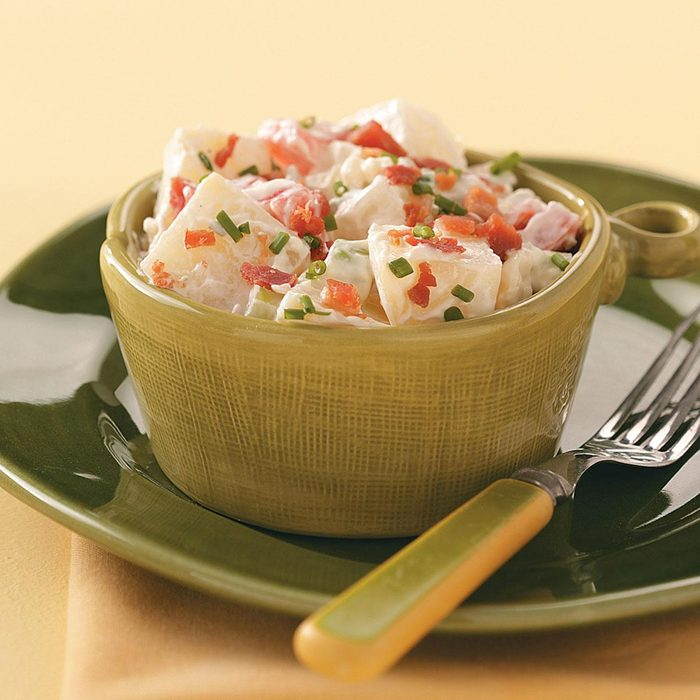 Bacon & Gorgonzola Potato Salad