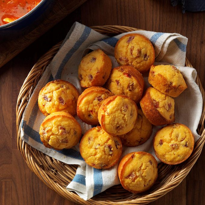 Bacon-Pimiento Cheese Corn Muffins