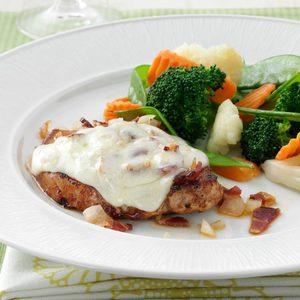 Bacon-Swiss Pork Chops