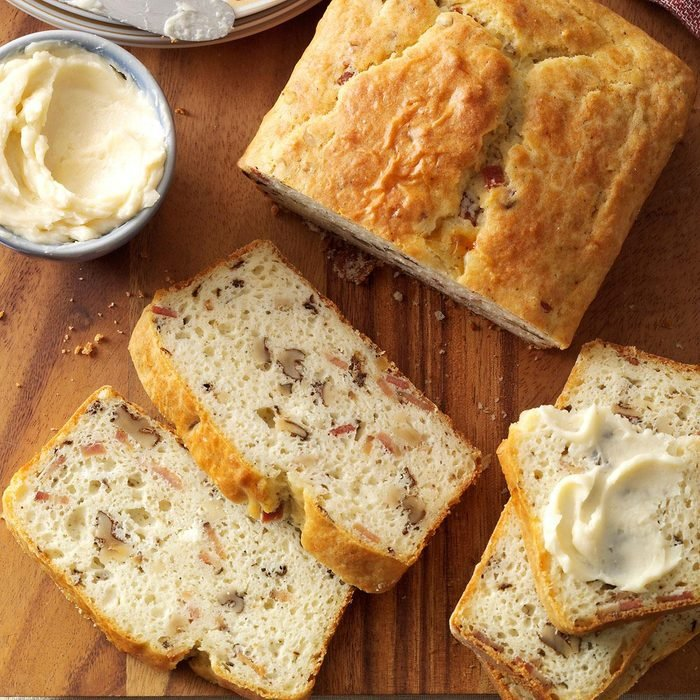 Bacon Walnut Bread With Honey Butter Exps133395 Thca143053c09 11 9bc Rms 5