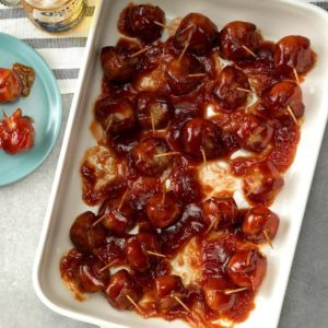 Bacon-Wrapped Water Chestnuts