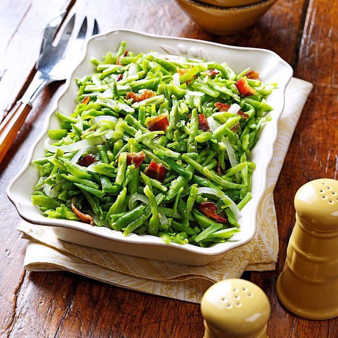 Inspired by: Roadhouse Green Beans