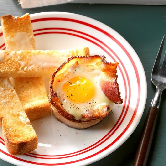 Breakfast in Bed: Bacon 'n' Egg Bundles