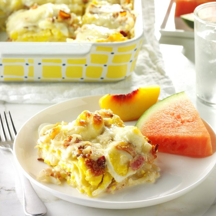 Vermont: Bacon 'n' Egg Lasagna