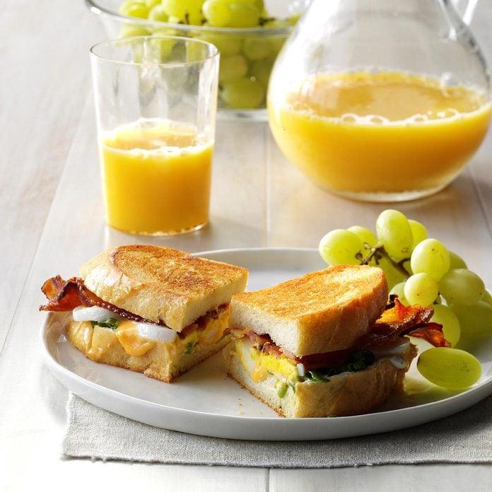 Inspired By: Artisan Bacon Egg Sandwich