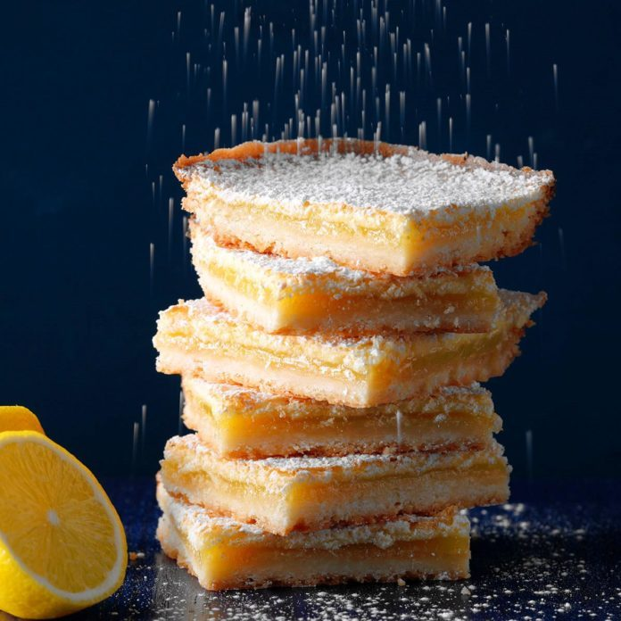 Bake Sale Lemon Bars Recipe Taste Of Home