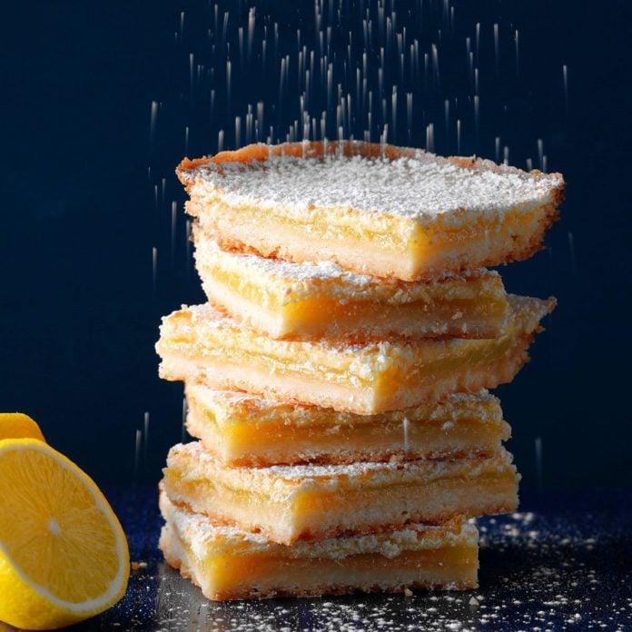 Illinois: Bake-Sale Lemon Bars