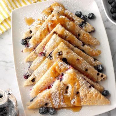 Baked Blueberry Pancake