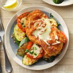 Baked Chicken and Zucchini