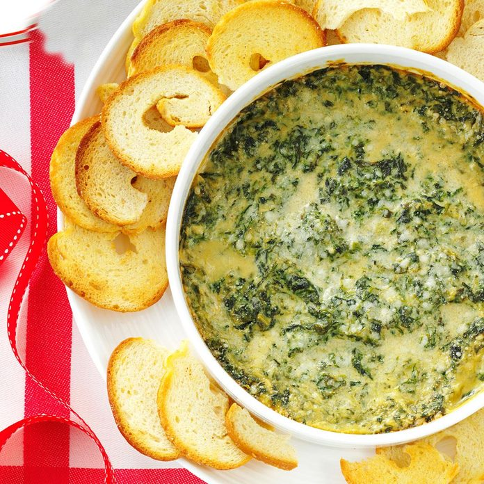 Inspired by: Spinach and Artichoke Dip