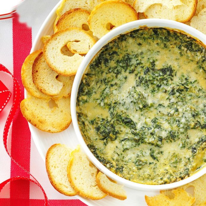 Baked Creamy Spinach Dip