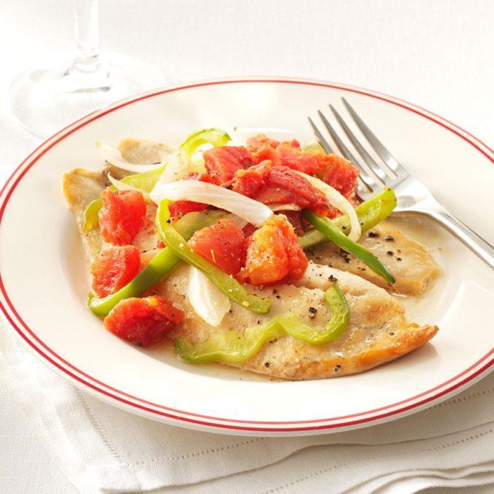 Baked Italian Tilapia