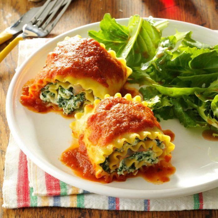 Baked Lasagna Roll-Ups