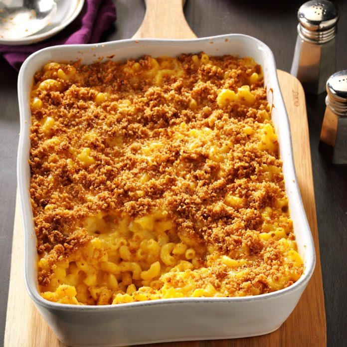 Delaware: Baked Mac and Cheese