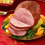 Baked Orange-Glazed Ham