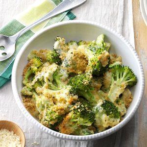 Baked Parmesan Broccoli