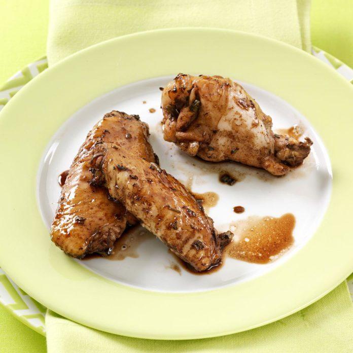 Balsamic-Glazed Chicken Wings