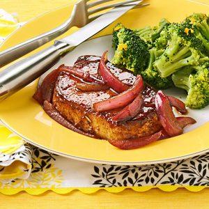 Balsamic-Glazed Pork Chops