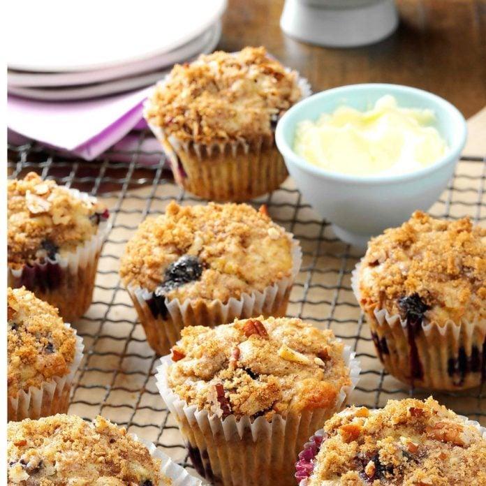 Banana Berry Muffins