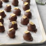 Banana Cream Chocolate Truffles