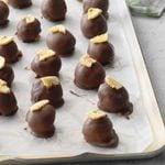 Banana Cream Chocolate Truffles