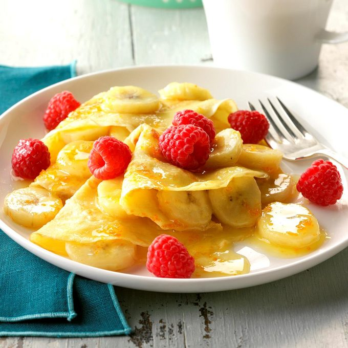 Inspired by: Crepes Suzette