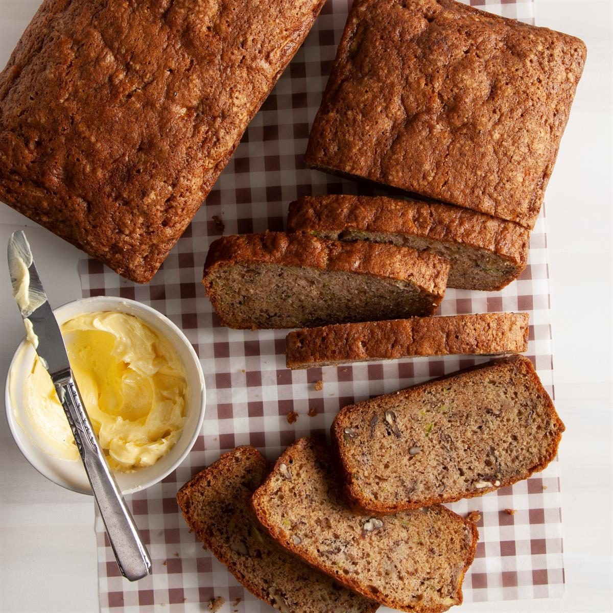 Banana-Zucchini Bread