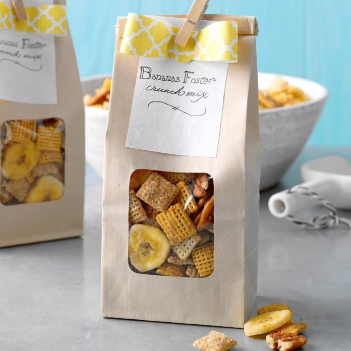 Banana Foster Crunch Mix