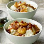 Bananas Foster Sundaes for 2